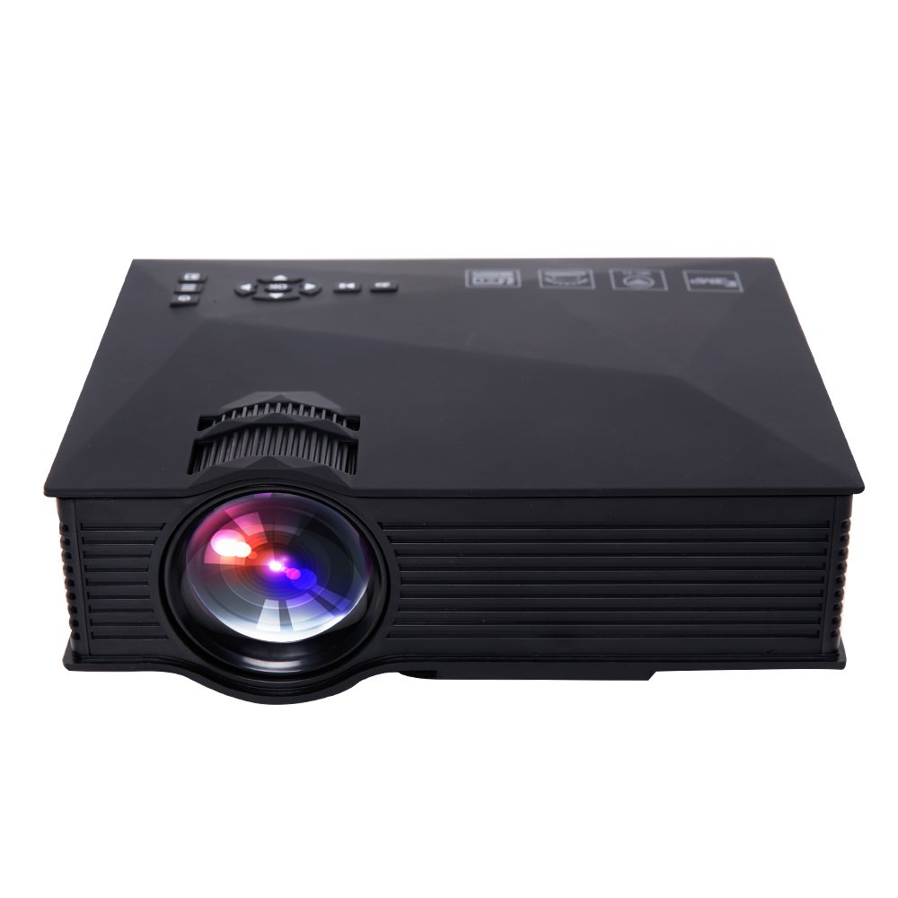 Deeplee wireless wifi mini portable led lcd video for Pocket projector video