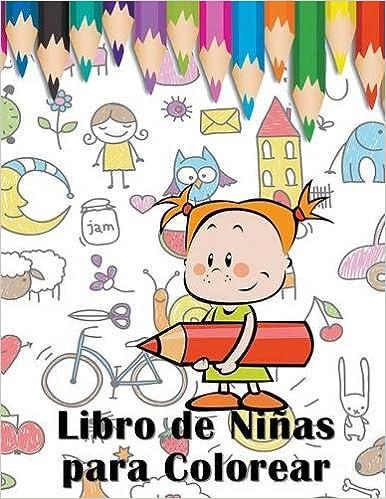Libro de Niñas para Colorear (Spanish Edition): Mojo Enterprises ...