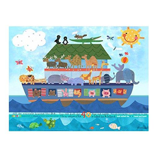 Oopsy Daisy Noah's Ark Canvas Art, 40'' x 30'' by Oopsy Daisy