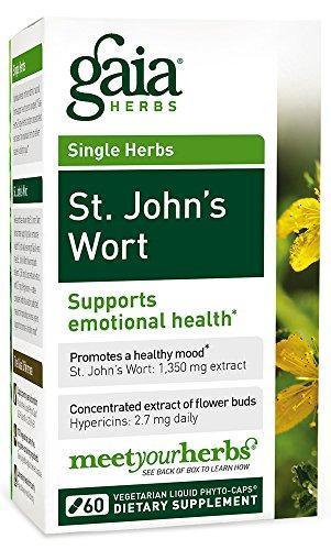 Gaia Herbs St. John's Wort Liquid Phyto-Capsules, 60 Count
