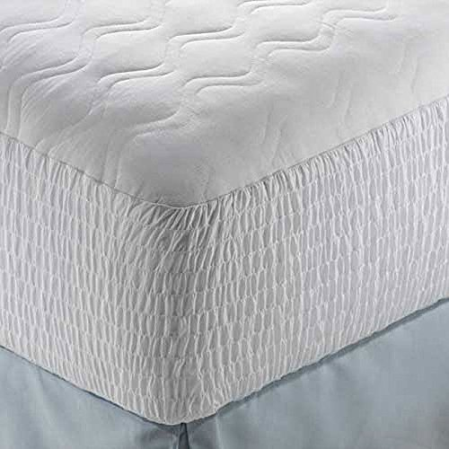 Mattress Pad Polyester Cotton Top Protector Cover Bed Bedroom Sleep / Twin XL