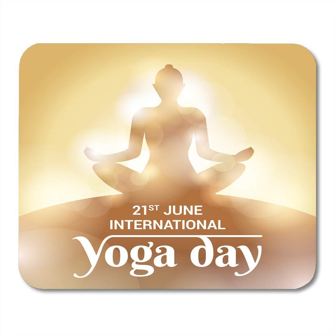 Mouse Pads Chakra Día Internacional de Yoga Acontecimiento ...