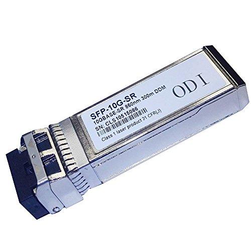 ODI 10Gb/s SFP+ Transceiver SFP Module Compatible with Cisco SFP-10G-SR by ODI
