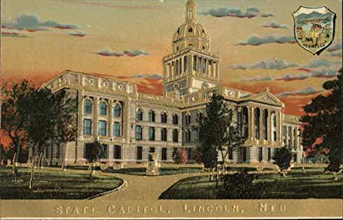(State Capitol Lincoln, Nebraska Original Vintage)