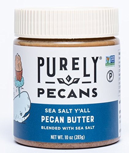 - Pecan Butter with Sea Salt - VEGAN- PALEO- Certified