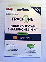 Tracfone - Bring Your Own Smartphone- Nano Sim Kit - At&t Towers