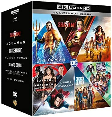 Dc Comics Boxset 7 4K Ultra Hd+7 Blu-Ray Italia Blu-ray: Amazon.es ...