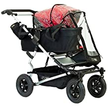 Mountain Buggy Single Storm Cover for Duet Double Stroller, Clear by Mountain Buggy