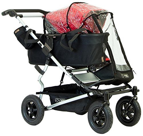 Mountain Buggy Single Storm Cover for Duet Double Stroller, Clear by Mountain Buggy [並行輸入品]   B01AL03WD0