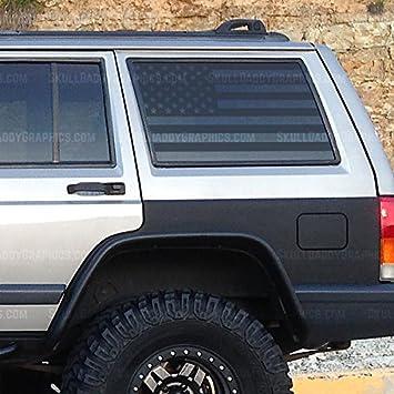 Amazon Com Xj Window Flags To Fit Jeep Cherokee 1987 2001 Xj