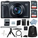 Canon Powershot SX740 HS (Black) 4K Video Digital