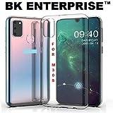 BK Enterprise™ Transparent Back Covers for Samsung Galaxy M30S Back Covers/Back Covers for Samsung M30S Transparent Back Cover/Back Case for Galaxy M30S Samsung Cover