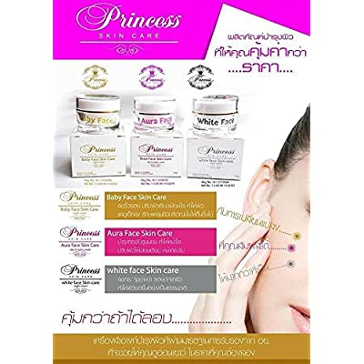 Princess Skin Care Treatment Set - Aura Face, White Face and Baby Face 10g., 0.32 oz - 4039590 , B00R94RX82 , 454_B00R94RX82 , 36.59 , Princess-Skin-Care-Treatment-Set-Aura-Face-White-Face-and-Baby-Face-10g.-0.32-oz-454_B00R94RX82 , usexpress.vn , Princess Skin Care Treatment Set - Aura Face, White Face and Baby Face 10g., 0.32 oz