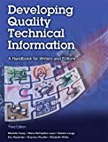 Developing Quality Technical Information: A