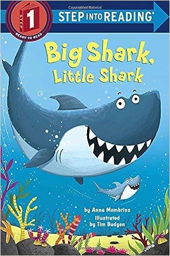 Big Shark, Little Shark (Step Into Reading) Book Pdf