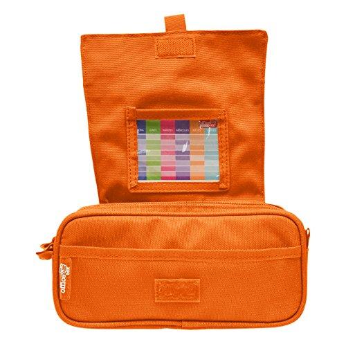 Colorline 58311 - Portatodo Triple de Amplios Apartados Interiores con Cierre de Cremallera Individual, Estuche Multiuso para Material Escolar. Color ...