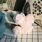 ChainSee-5-Head-Artificial-Silk-Peony-Flowers-Bridal-Bouquet-Home-Wedding-Decor-G