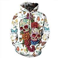 Hale Tomlinson Unisex Kanye West Hoodie Sweatshirts 3D Printed Pullovers Hooded Hoody XXXX-Large