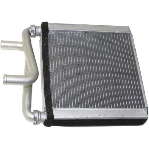 Heater Core Compatible with DODGE FULL SIZE P/U 2002-2009 Aluminum 6-1/4 x 7-3/8 x 1 in. Core Size 5/8 Inlet Size - Heater Core Inlet