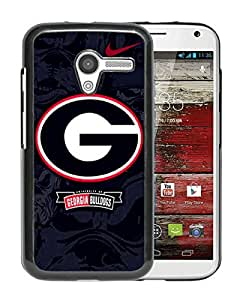 Fashionable And Unique Designed Cover Case With georgia bulldogs 01 Black For Motorola Moto X Phone Case
