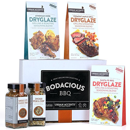 Bbq Spice - Urban Accents BODACIOUS BBQ Gourmet Grilling Spices and Meat Rub Collection and Gift Set, Perfect for Weddings, Housewarmings or Any Occasion