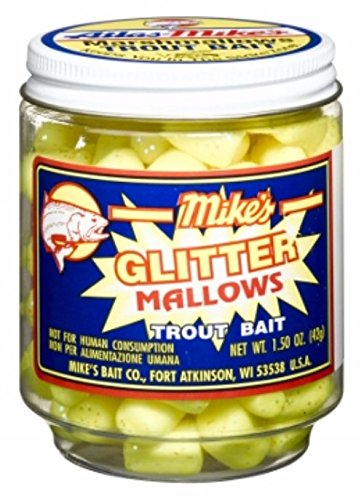 Atlas Mike's Atlas Mike's Mallow Trout Bait, Yellow/Garlic ()
