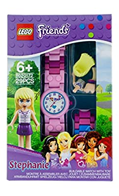 LEGO Kids' Friends Plastic Watches With Minifigure