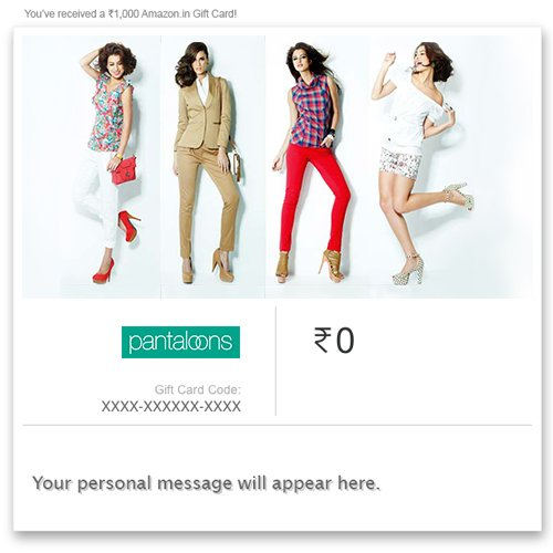Pantaloons - Instant Voucher - Get 100 off on 1000 | Use promo code PANTA100