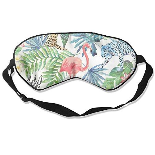Sleeping Mask Multi Tropical Animals Unisex Sleep Silkworm Eye Mask ()