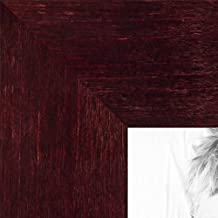 ArtToFrames 24x30 inch Dark Cherry Stain on Hard Maple Wood Picture Frame, WOM0066-71206-YCHY-24x30