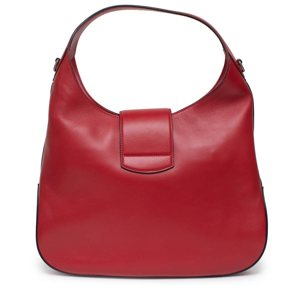 9295893035a Amazon.com  Gucci Red Dionysus Embroidery Cherry Blossoms Leather Shoulder  Bag Medium Hobo Handbag New  Shoes