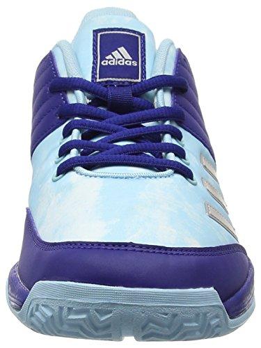 W Ligra Volleyballschuhe Damen Ink Footwear Mystery Silver White adidas 5 Blau Metallic 5w1ITWtq