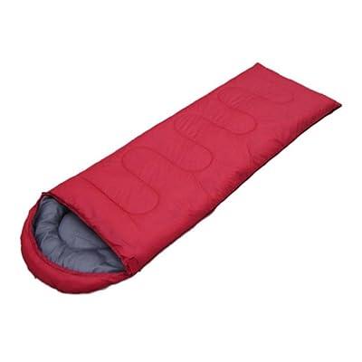 Enveloppe À Capuchon Sac De Couchage Printemps Eté Automne Sac De Couchage Camping En Plein Air Adulte,Red,1300G