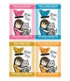 BFF 3 Oz Cat Food Variety 12 Pouches with 4 Flavors – Devour Me, Charm Me, Tickles, and Sweet-Cheeks