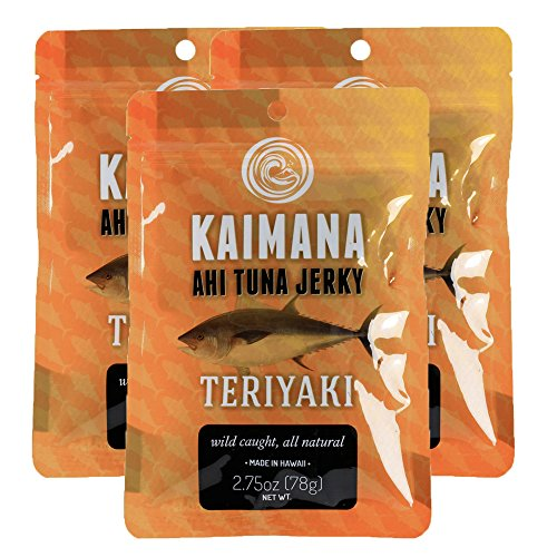 Teriyaki Ahi Tuna Jerky (3 Pack)