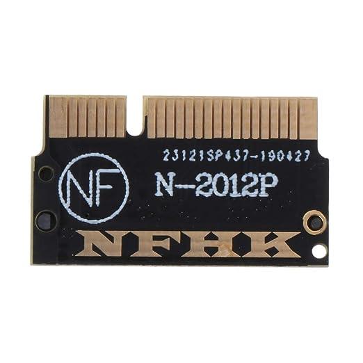 Anjuley SSD M.2 NGFF Compatible con MacBook Pro Retina 2012 A1398 ...