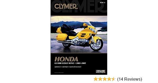 Amazon Clymer Repair Manual For Honda Gl1800 Goldwing 0105 Automotive: 1997 Wiring Diagram Goldwing 1800 At Eklablog.co