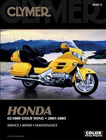 clymer repair manual for honda gl1800 goldwing 01 05 GL1800 Wiring Schematic