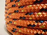 3/16'' x 150 ft. Double Braid Yacht Braid Polyester Sailboat Rigging Nautical Rope Spool. Valley Rope.