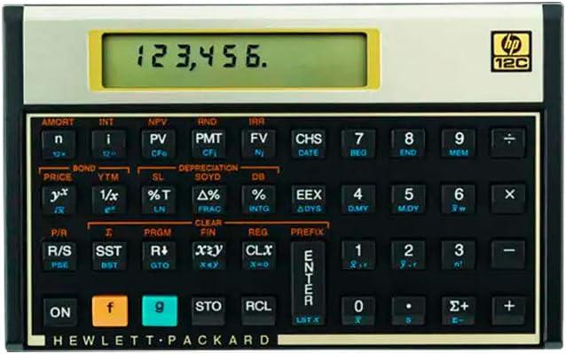 HP 12C Financial Calculator Latin America