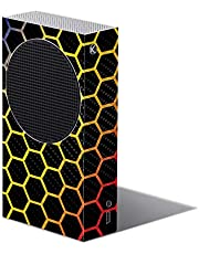 MIGHTY SKINS Carbon Fiber Skin Compatible with Xbox Series S - Primary Honeycomb   Protective, Durable Textured Carbon Fiber Finish   Easy to Apply   Made in The USA