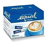 Equal Classic Zero Calorie Sweetener Sticks 1 g x 50 sticks