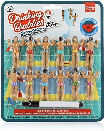 Drinking Buddies Cocktail Markers 12 Count product image