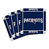 NFL New England Patriots 4-Pack Ceramic Coasters