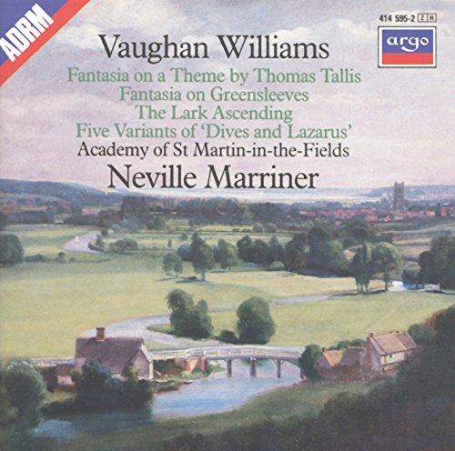 Greensleeves Fantasia On - Vaughan Williams: Tallis Fantasia; Fantasia on Greensleeves; The Lark Ascending etc.