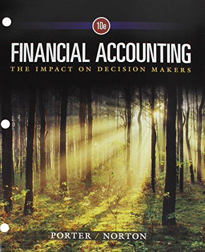 Financial Accounting: The Impact on Decision Makers, Loose-Leaf Version