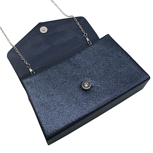 Bag Blue Bag Shoulder Tote Party Messenger Navy Wedding Wocharm Women Handbag Clutch Purse qXpgwFUU