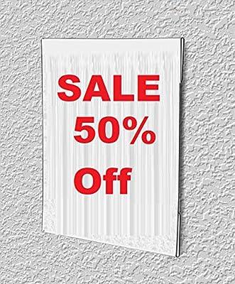 1InTheOffice soporte vertical de pared para carteles con ...