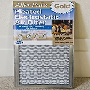 Allergy Free Aller Pure Gold Permanent Furnace Filters