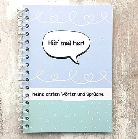 Libro de recuerdos Mi primera Palabras y Sprüche: Amazon.es: Bebé